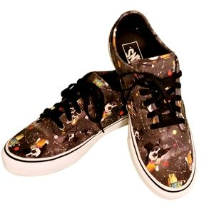 Vans Off The Wall French Bulldog Shoes Galaxy 10